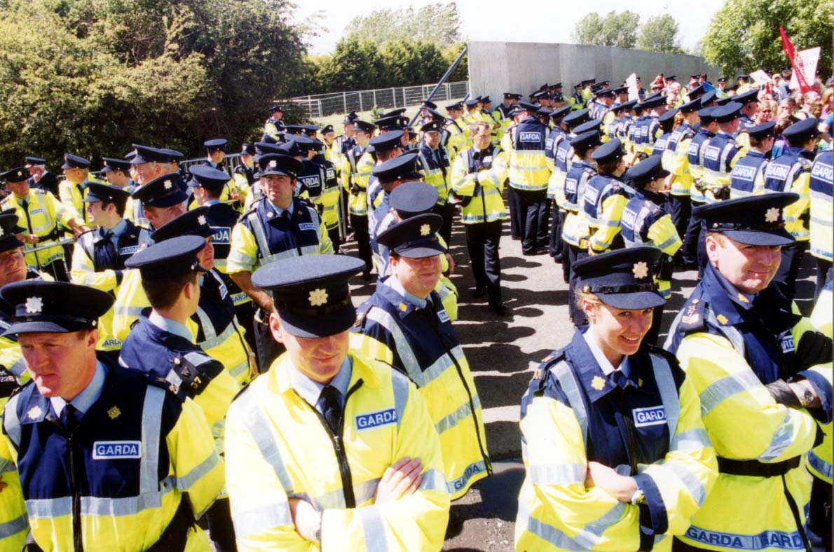 Yes there were a lot of Garda there