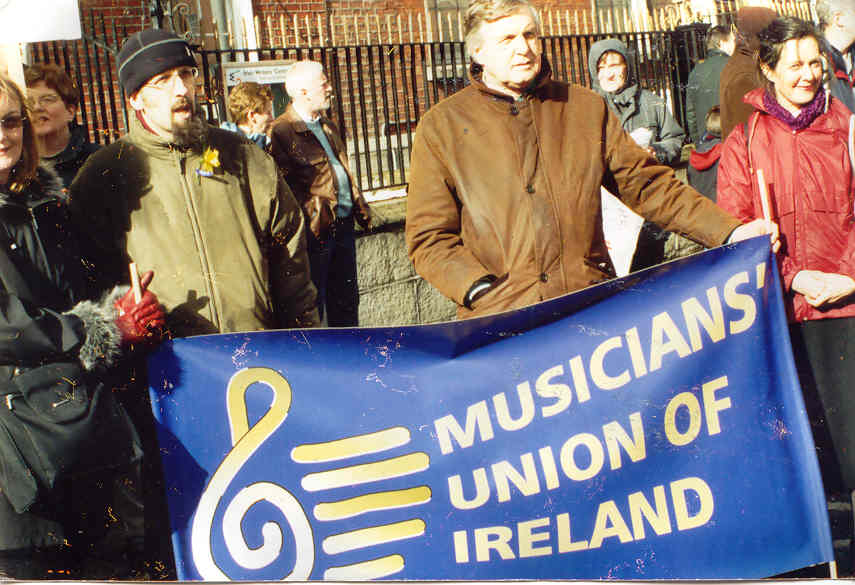 Music Union of Ireland Against War