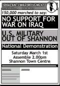 2003-03-01 No Support for US War National Demo
