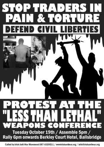 Less Than Lethal Weapons Protest 2004-10-19
