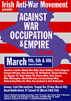 Anti War Conference 2005 March 4,5,6