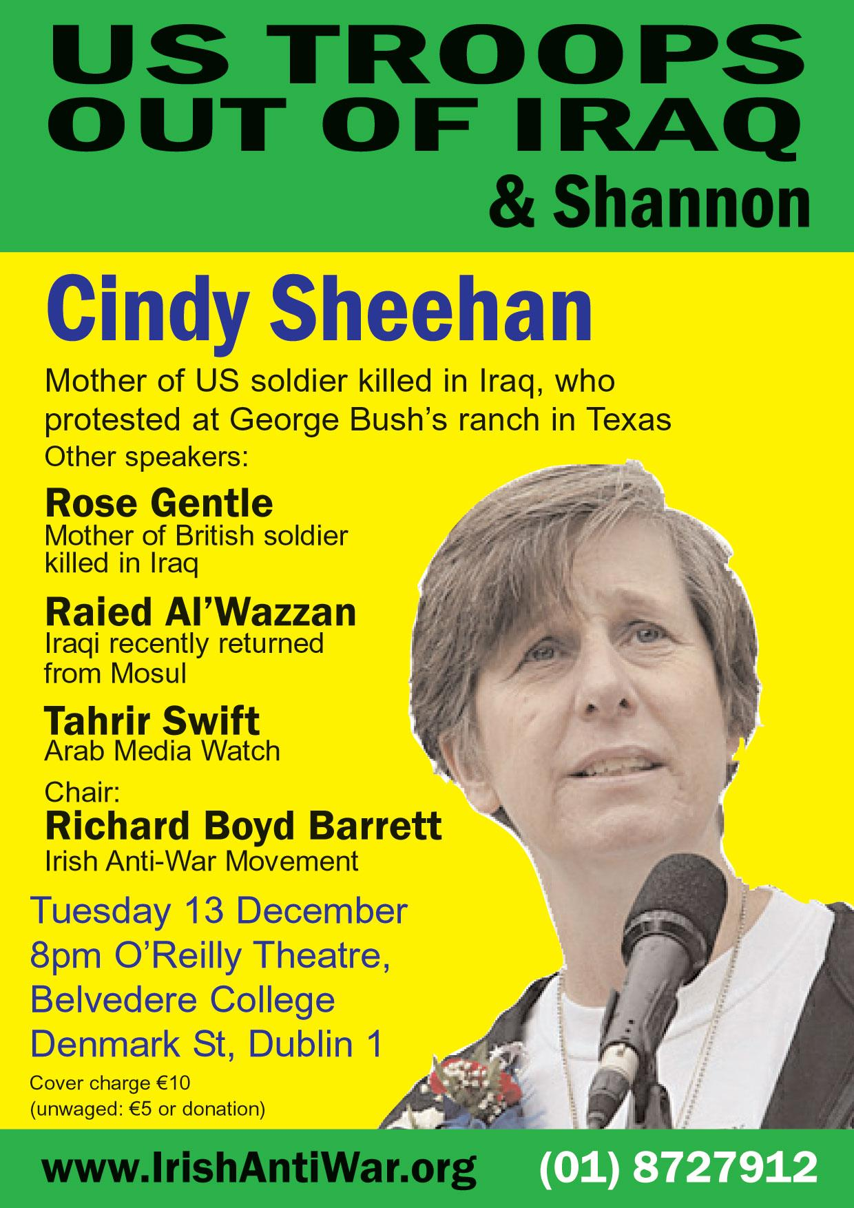 Cindy Sheehan & Rose Gentel
